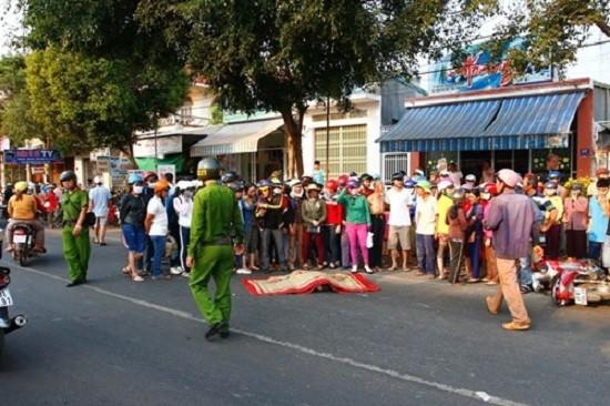 Đắk Lắk: Thai phụ bị xe container đâm tử vong tại chỗ - ảnh 1