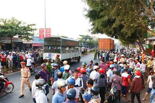 Đắk Lắk: Thai phụ bị xe container đâm tử vong tại chỗ - ảnh 2