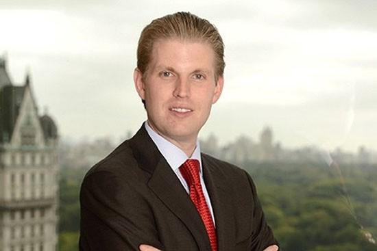 Mỹ: Con trai tỷ phú Donald Trump bị gửi thư nặc danh đe dọa - ảnh 1