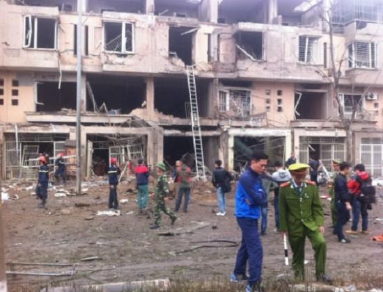 Vụ nổ kinh hoàng ở Văn Phú - Hà Đông do cưa bom? - ảnh 3