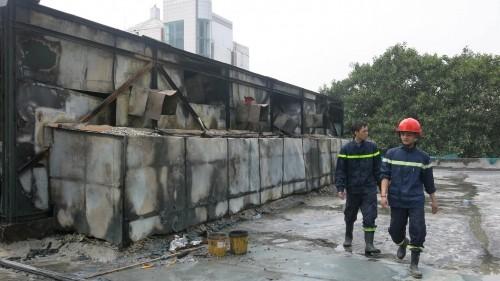 Xác định nguyên nhân gây ra cháy ở Cung thiếu nhi Hà Nội - ảnh 5