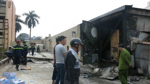 Xác định nguyên nhân gây ra cháy ở Cung thiếu nhi Hà Nội - ảnh 7