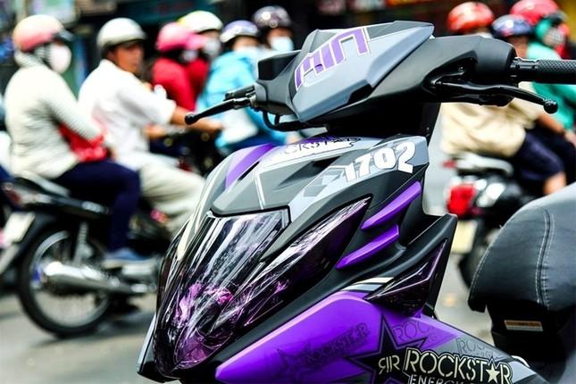 Ngắm nhìn chiếc Nouvo 2012 độ sắc tím độc nhất Việt Nam - ảnh 4