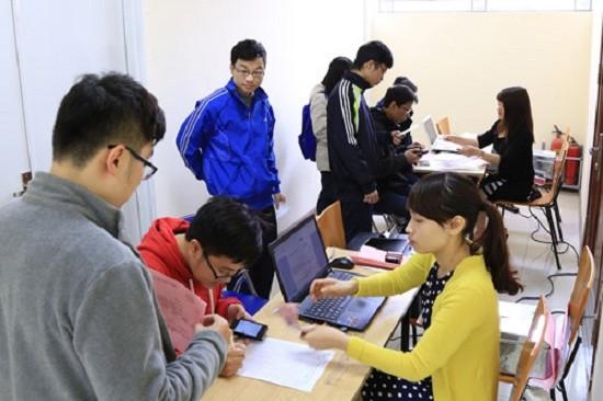 Đại học Quốc gia Hà Nội mở cổng đăng ký dự thi trực tuyến - ảnh 1