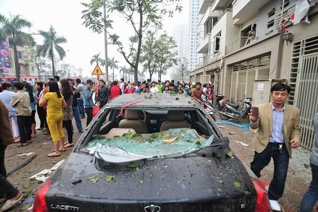Vụ nổ ở Văn Phú-Hà Đông: Nhiều nạn nhân đã qua cơn nguy kịch - ảnh 1