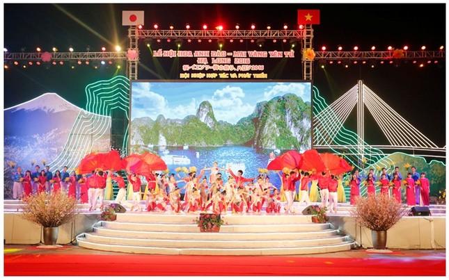 Khai mạc Lễ hội Hoa anh đào - Mai vàng Yên Tử, Hạ Long năm 2016 - ảnh 1