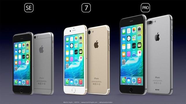 Ngắm 3 mẫu iPhone sẽ 'gây bão' trong năm 2016 - ảnh 1