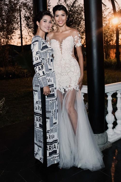 Trang Lạ gợi cảm bên chồng Việt kiều trong hôn lễ ở biệt thự - ảnh 9