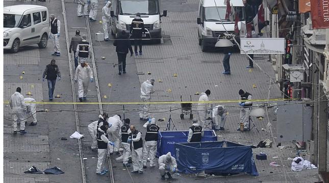 Thổ Nhĩ Kỳ: Nghi phạm đánh bom Istanbul là khủng bố IS - ảnh 1