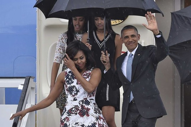 Lý do Tổng thống Mỹ Obama đưa hai con gái đến Cuba - ảnh 1