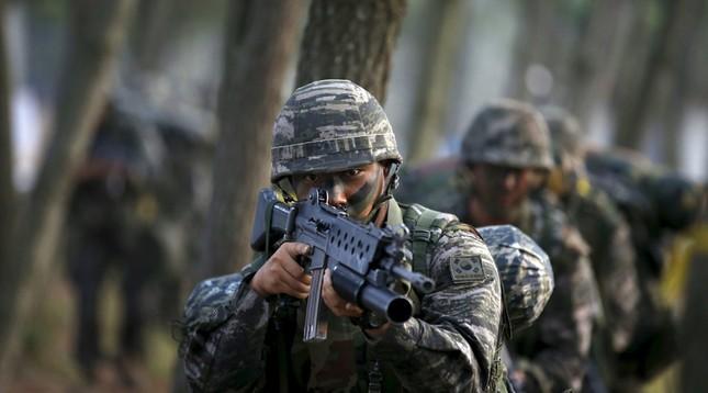 Hàn Quốc lập trung đoàn 'Spartan 3.000' đối phó Triều Tiên - ảnh 1