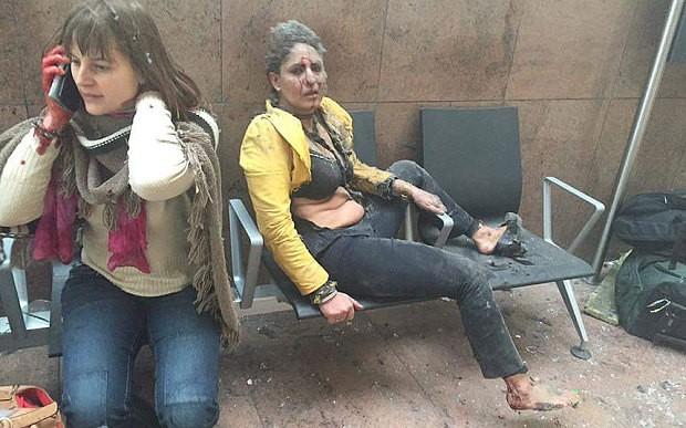 Sân bay Bỉ rung chuyển vì hai vụ nổ liên quan đến khủng bố? - ảnh 2
