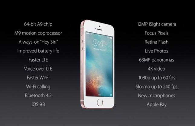 iPhone SE chính thức ra mắt: Đẹp như 5S, mạnh ngang 6S - ảnh 4