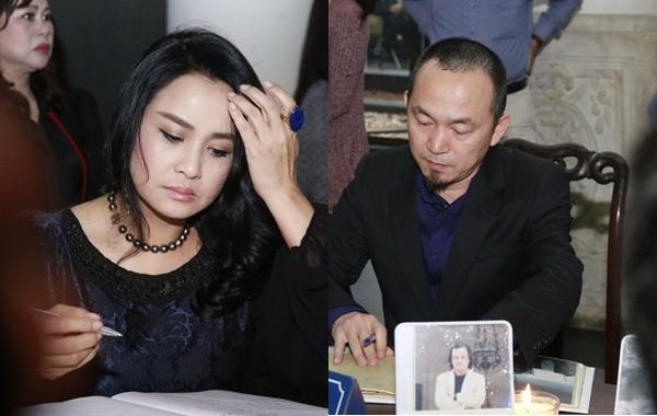 Thanh Lam, Quốc Trung nghẹn ngào đưa tiễn nhạc sĩ Thanh Tùng - ảnh 1
