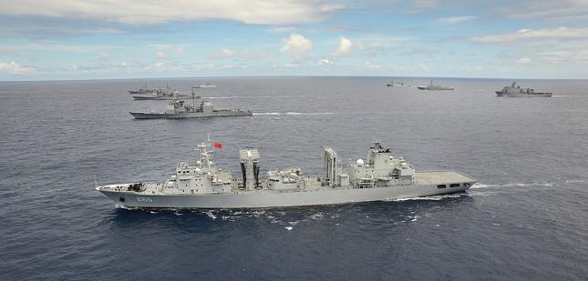 Mỹ cân nhắc loại Trung Quốc khỏi tập trận RIMPAC 2016 - ảnh 1