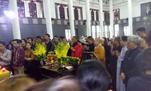 Toàn cảnh tang lễ Trần Lập - Ấm áp yêu thương hòa trong nước mắt - ảnh 10