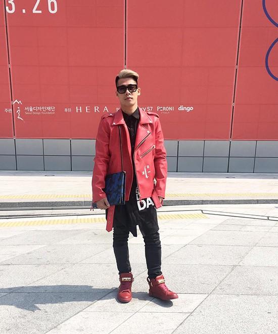 Minh Hằng đầy 'chất chơi' thu hút nhiều ống kính ở Hàn Quốc - ảnh 5