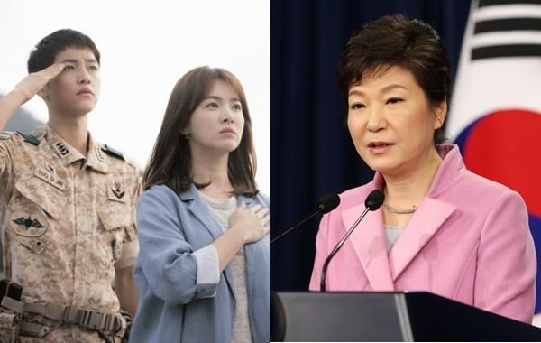 Tổng thống Hàn Quốc nói về tác phẩm đình đám Hậu duệ mặt trời - ảnh 1