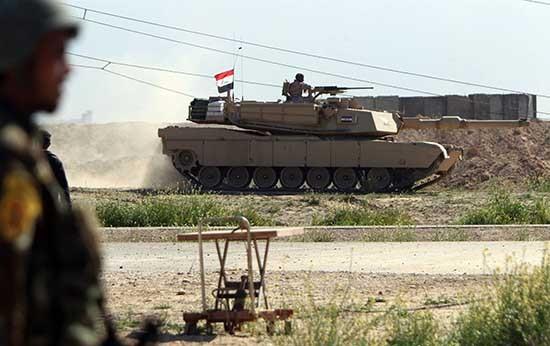 Quân đội Iraq tổng tiến công giải phóng Mosul khỏi IS - ảnh 1