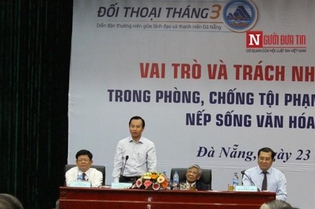 Bí thư Nguyễn Xuân Anh: Thanh niên nên có hoài bão làm lãnh đạo - ảnh 1