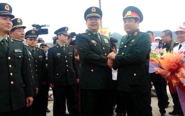 Bộ trưởng Quốc phòng TQ thăm VN, phản bác luận điệu xuyên tạc - ảnh 1