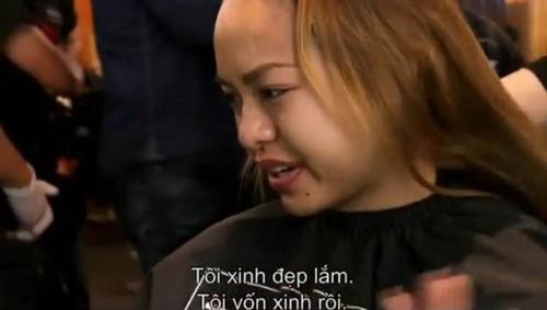 Quỳnh Mai khóc nức nở vì bị cắt tóc ở Asia's Next Top - ảnh 3