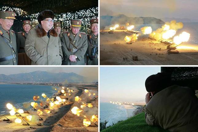 Video: Triều Tiên dọa 'nhấn chìm' Washington bằng vũ khí hạt nhân - ảnh 2