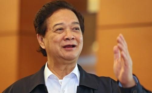 Thủ tướng Nguyễn Tấn Dũng nói lời chia tay thành viên Chính phủ - ảnh 1