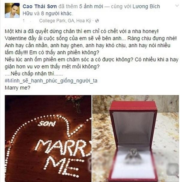 Cao Thái Sơn sắp tổ chức đám cưới với hot girl 9X Hà Nội? - ảnh 2