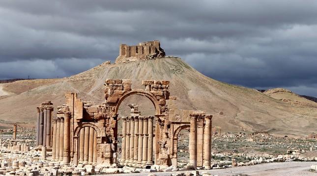 UNESCO: Palmyra là biểu tượng quan trọng của Syria - ảnh 1