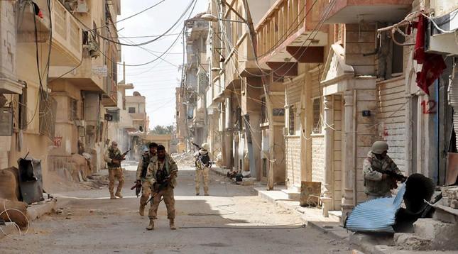 Phương Tây im lặng khó hiểu sau khi Palmyra được giải phóng  - ảnh 1