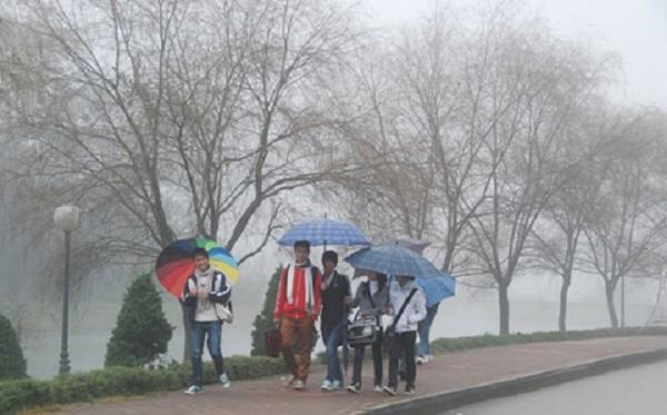 Dự báo thời tiết 29/3: Miền Bắc mưa phùn, nồm ẩm đến hết tuần - ảnh 1
