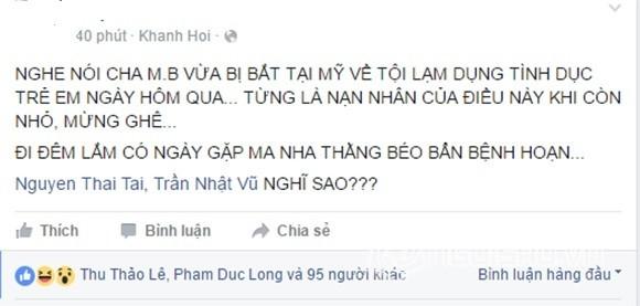 Gia đình xác nhận vụ danh hài Minh Béo bị bắt vì sàm sỡ trẻ em - ảnh 2