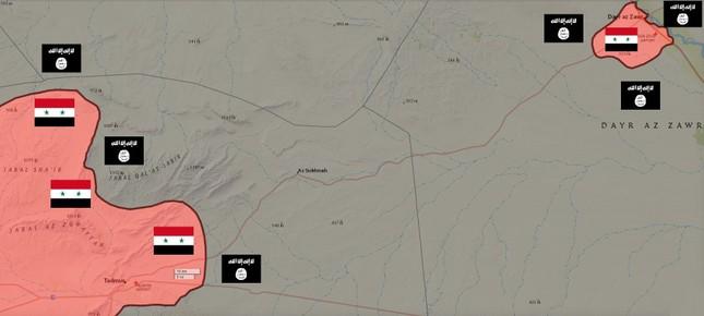 Tình hình Syria: Quân Assad phá vòng vây IS ở Deir Ezzor - ảnh 2