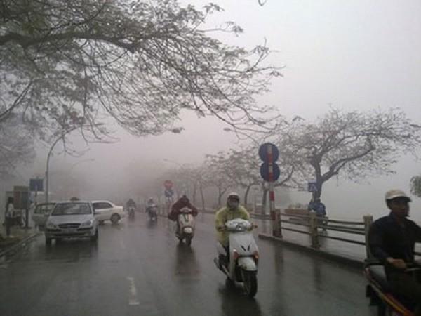 Dự báo thời tiết 30/3: Bắc Bộ có sương mù và mưa nhỏ - ảnh 1