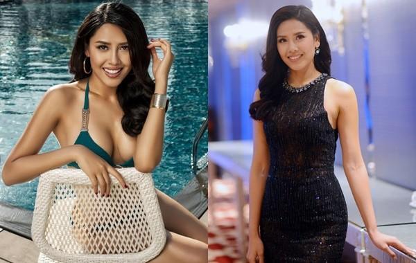 Hoa hậu Biển Nguyễn Thị Loan nóng bỏng với bikini, váy xuyên thấu - ảnh 1