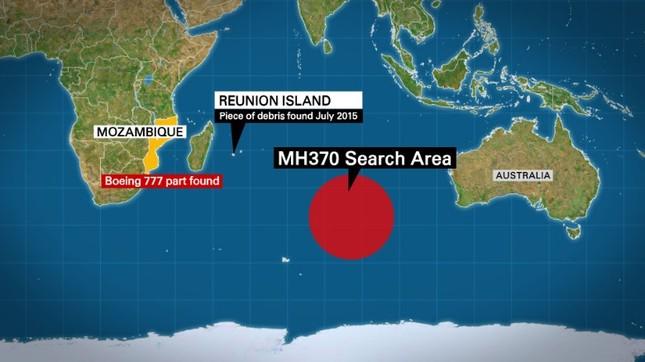 Phát hiện mảnh vỡ lạ ở Mozambique nghi của MH370  - ảnh 1