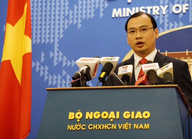 Việt Nam kiên quyết bảo vệ lợi ích hợp pháp ở Biển Đông - ảnh 1