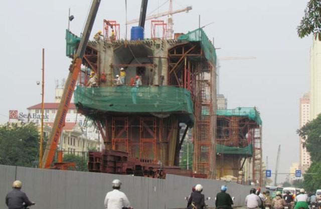 Đường sắt Cát Linh - Hà Đông lại chậm trễ vì Tổng thầu TQ nợ nần - ảnh 1