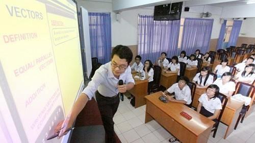 Vĩnh Phúc: Thí điểm dạy Toán bằng tiếng Anh ở cấp Trung học - ảnh 1