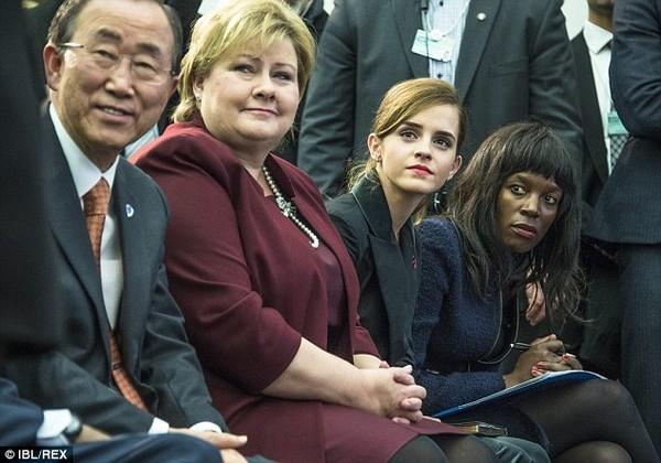'Phù thủy nhỏ' Emma Watson dành 1 năm cho hoạt động vì nữ quyền - ảnh 3