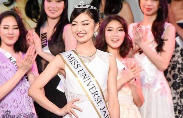 Ngắm nhan sắc 'gây bão' của Tân Hoa hậu Hoàn vũ Nhật Bản 2016 - ảnh 1