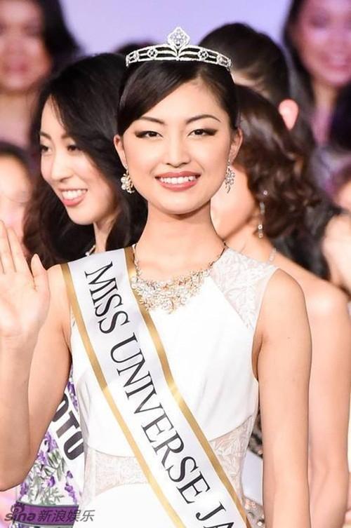 Ngắm nhan sắc 'gây bão' của Tân Hoa hậu Hoàn vũ Nhật Bản 2016 - ảnh 2