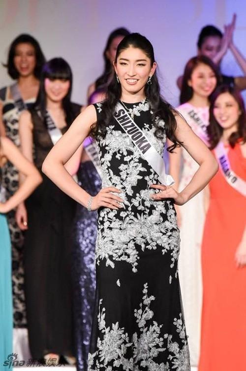 Ngắm nhan sắc 'gây bão' của Tân Hoa hậu Hoàn vũ Nhật Bản 2016 - ảnh 10