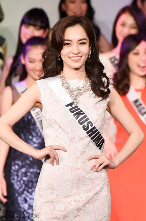 Ngắm nhan sắc 'gây bão' của Tân Hoa hậu Hoàn vũ Nhật Bản 2016 - ảnh 8