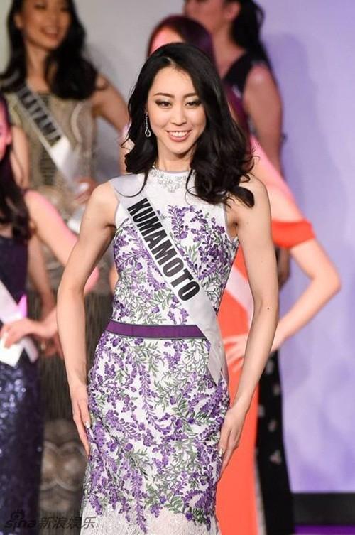 Ngắm nhan sắc 'gây bão' của Tân Hoa hậu Hoàn vũ Nhật Bản 2016 - ảnh 7