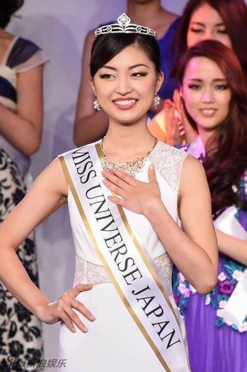 Ngắm nhan sắc 'gây bão' của Tân Hoa hậu Hoàn vũ Nhật Bản 2016 - ảnh 4