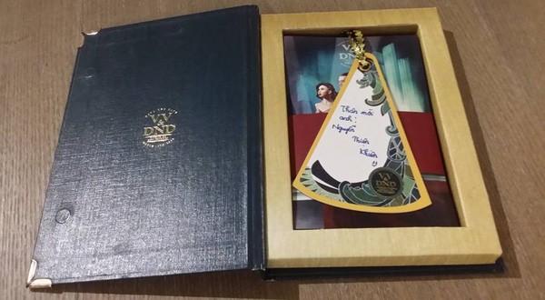 Lộ thiệp cưới 'cổ tích Châu Âu' của Victor Vũ và Đinh Ngọc Diệp - ảnh 4