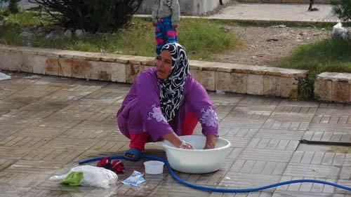 Người dân trở về quê hương Palmyra, cảm ơn sự giúp đỡ của Nga - ảnh 2