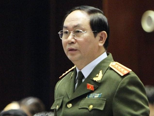 Ông Trần Đại Quang được giới thiệu vào vị trí Chủ tịch nước - ảnh 1